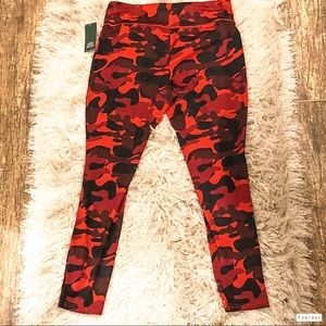 Camo wild fable red and black leggings workout